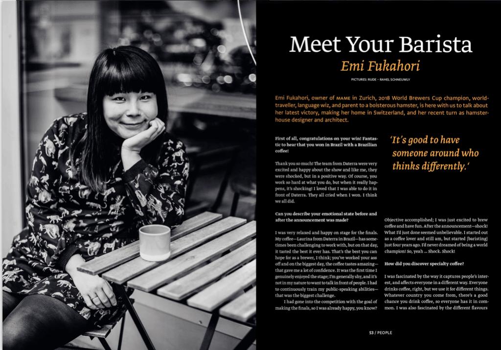 Article Emi Fukahori Standart 14