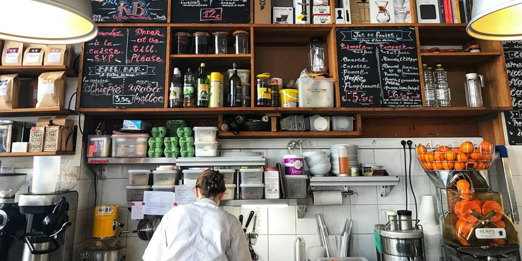 Vue intérieure KB Coffee Roasters