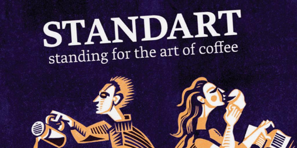 Couverture magazine café Standart 14