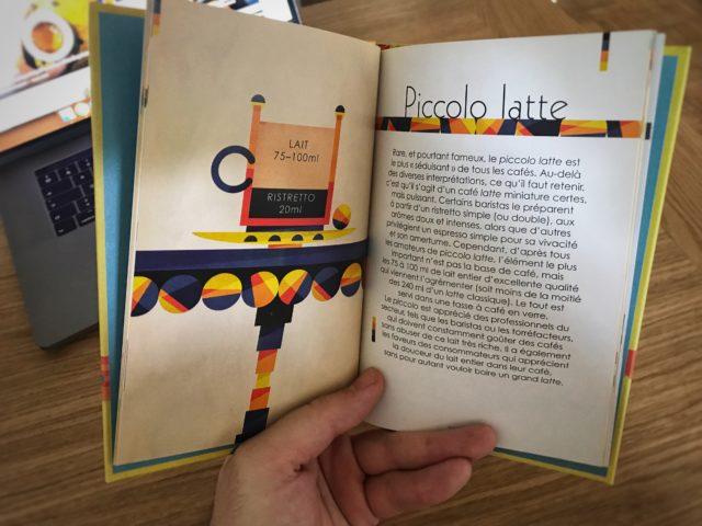 Example de recette du livre Caféographie.