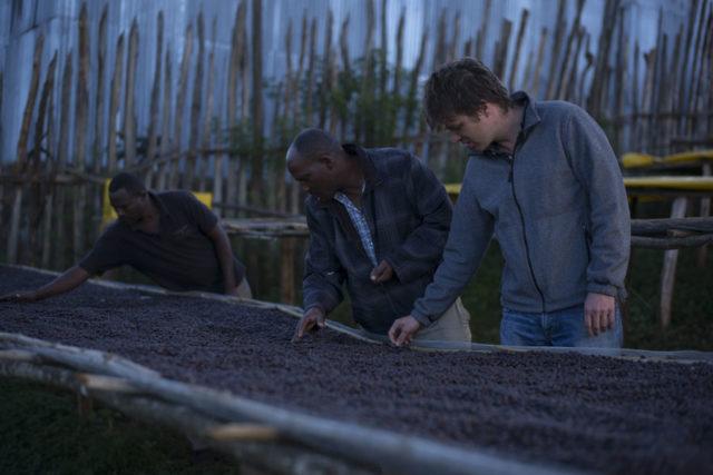 Yeti - Wallace - Jacques Chambrillon et Shambe Kana de Belco Ethiopie (au premier plan) - Photo : Fabrice Leseigneur