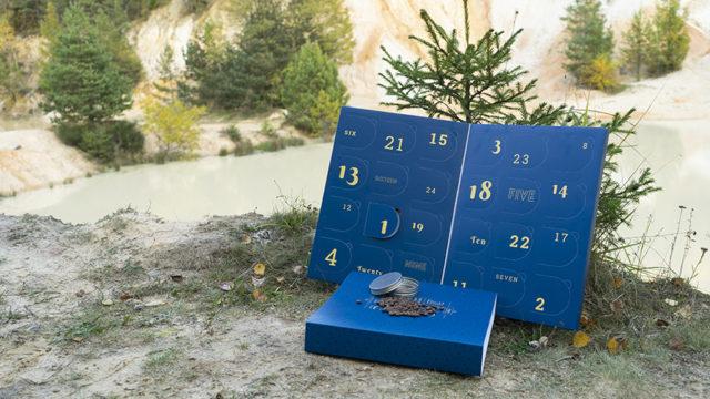 Le calendrier de l'avent dédié au Café de spécialité, par The Roses