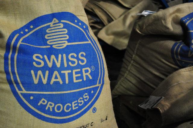 Sacs de café traité par Swiss Water