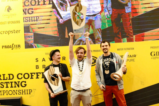 Le Russe Arseny Kuznetov remporte le World Coffee Roasting Championship 2019