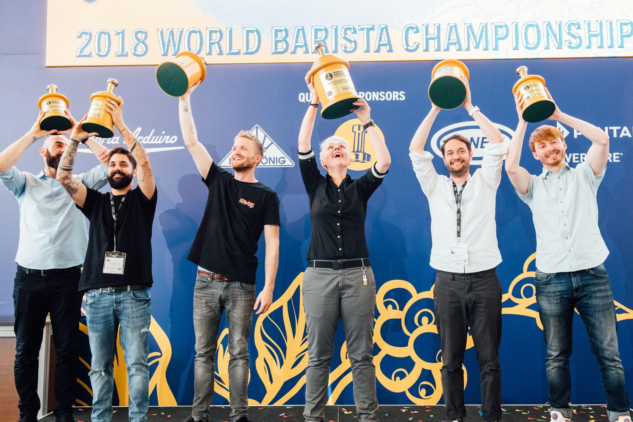 World Barista Champion Agnieszka Rojewska makes history - BeanScene
