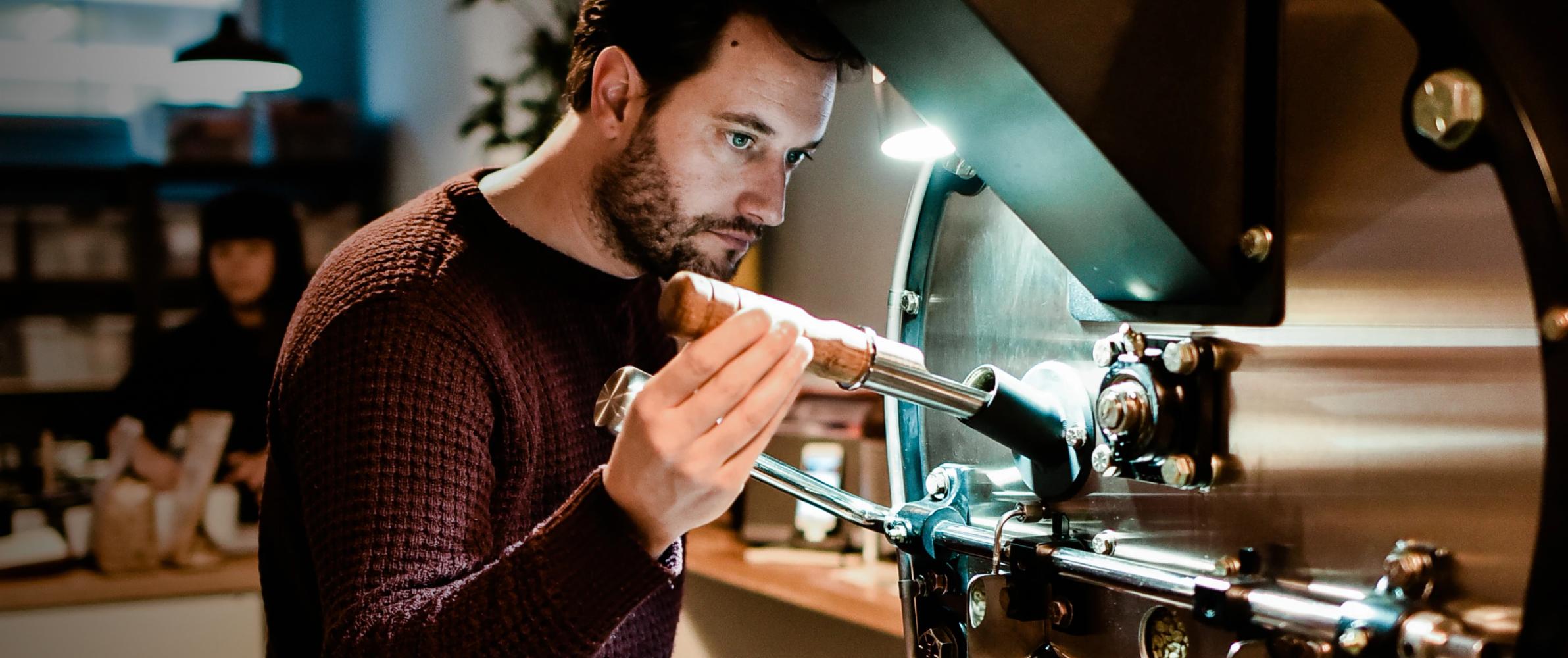 Mathieu at work